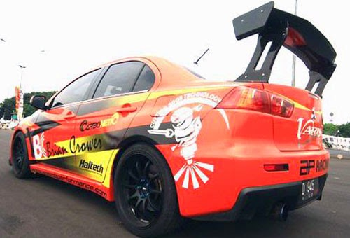 Modifikasi Mitsubishi Lancer  Evolution