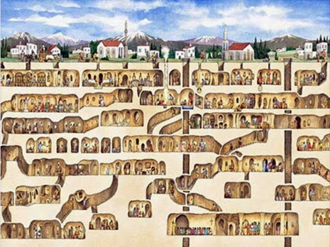 Derinkuyu and the underground cities of Cappadocia