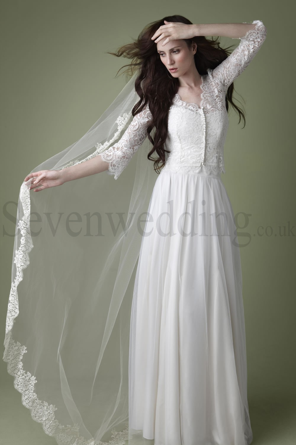 sevenweddingdresses wedding gown for a civil marriage
