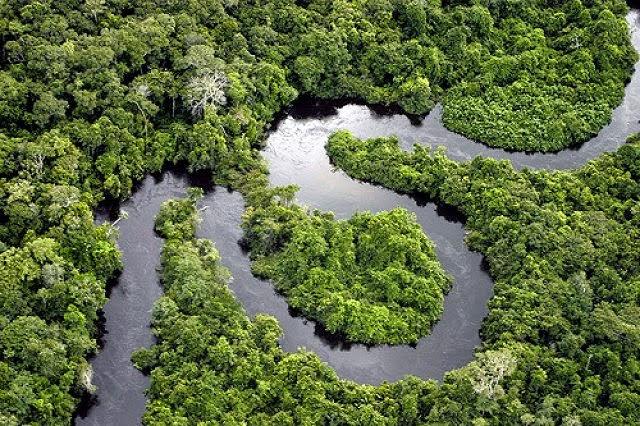 Sungai ini merupakan sungai yang terbesar di dunia yang melintasi