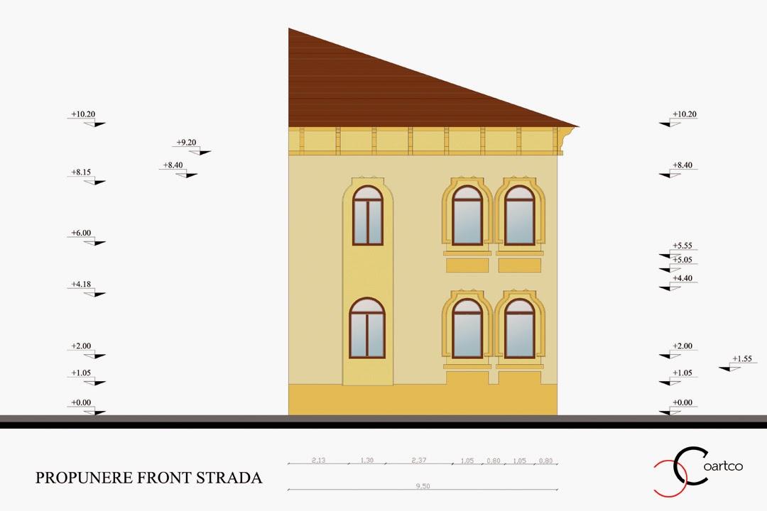 Proiect Fatade Case, Arhitect, Ornamente Profile Decorative