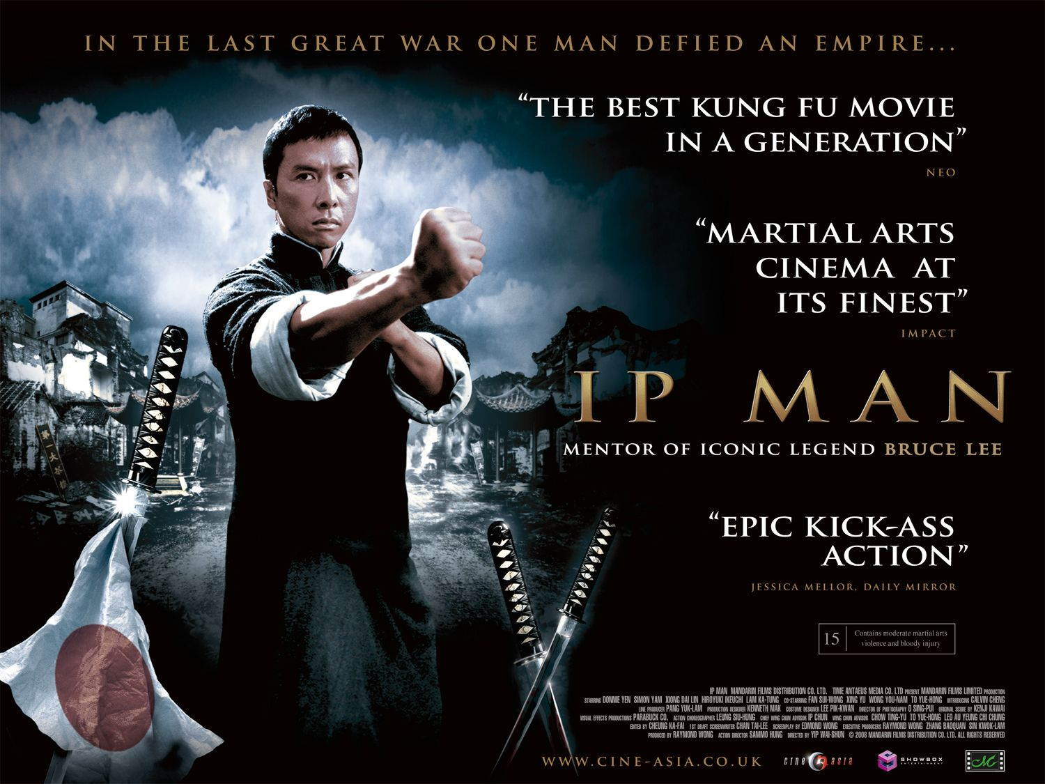 Now  on to Ip Man  I watched this movie on a free channel one night  I    Ip Man 2 Movie