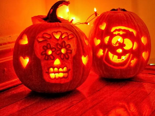 fun carved Halloween pumpkin