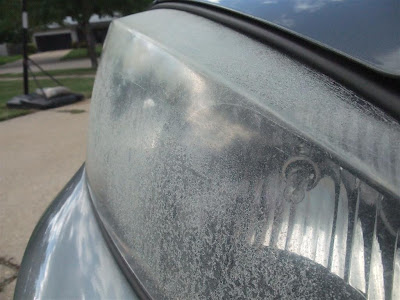 how to clean fogged headlights, car, pontiac grand prix, plastic peeling