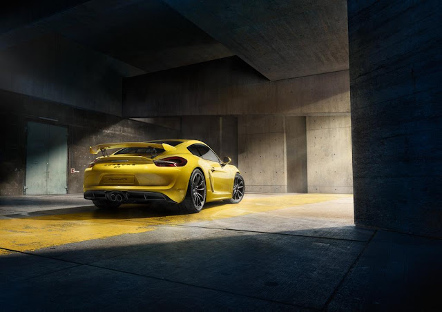 CAYMAN GT4 CLUBSPORT 2016