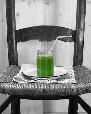 Batido Verde O Smoothies.