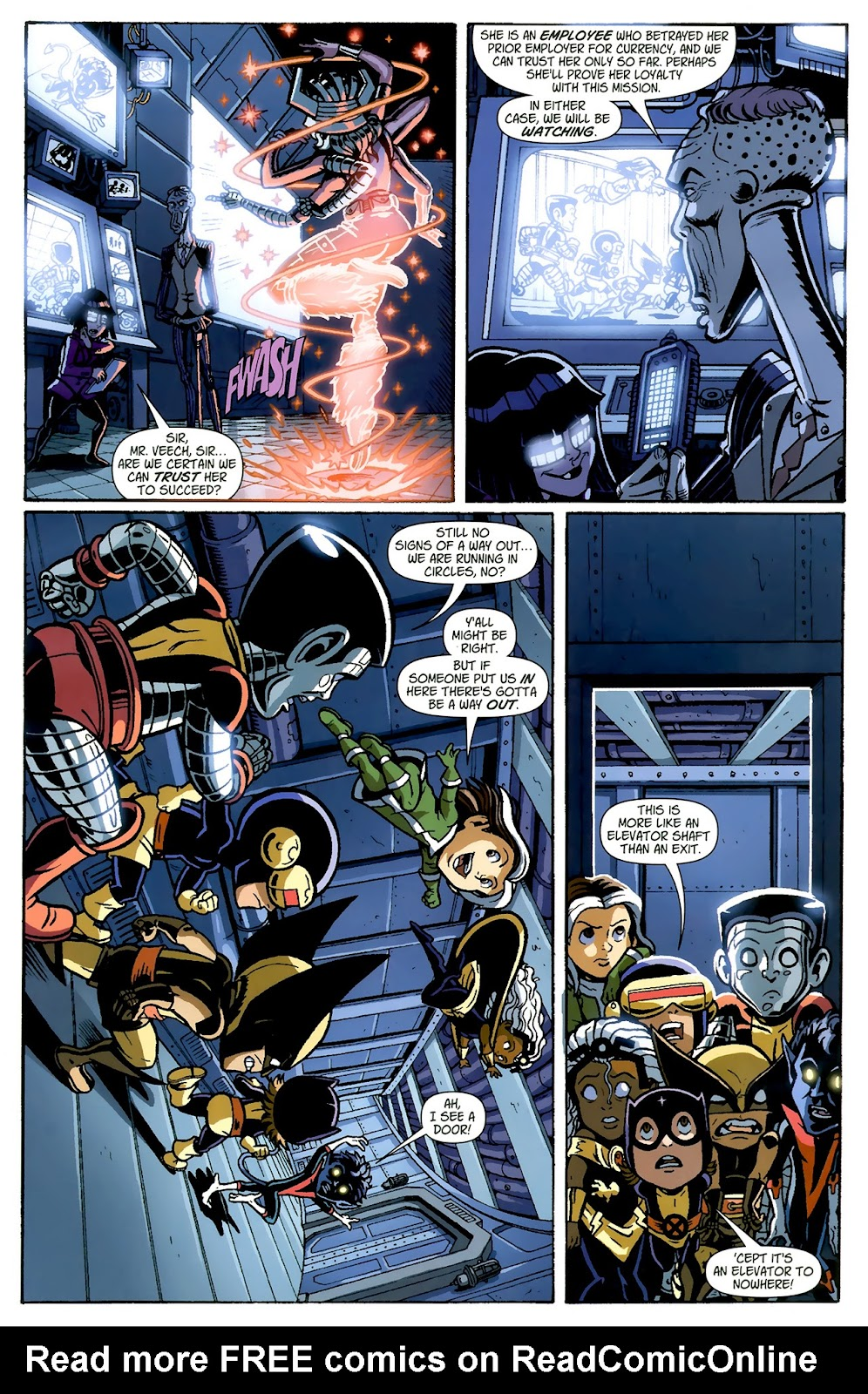 Read online X-Babies comic -  Issue #1 - 15