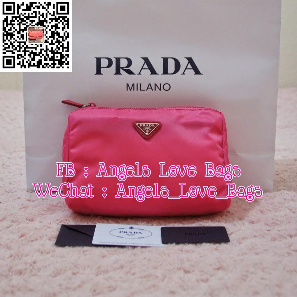 Angels Love Bags - The Fashion Buyer: ? PRADA Classic Large Nylon ...