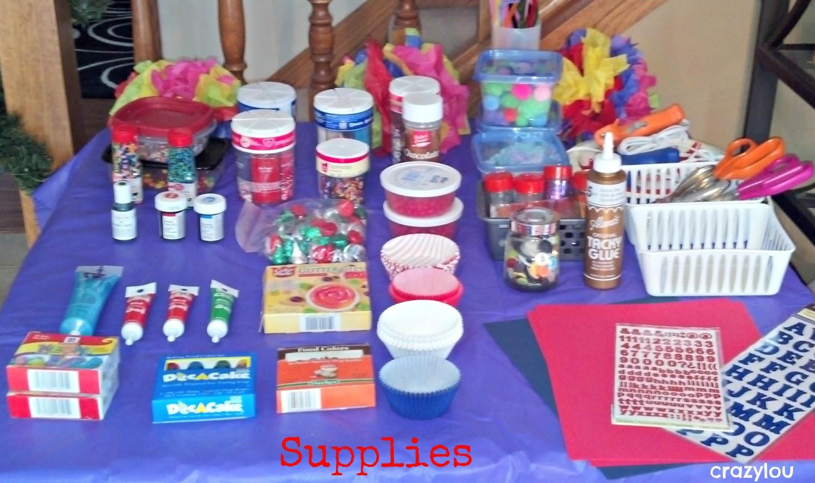 Crazylou Cupcake Wars Birthday Bash
