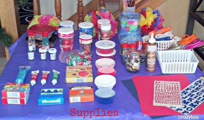 cupcake wars birthday party supplies