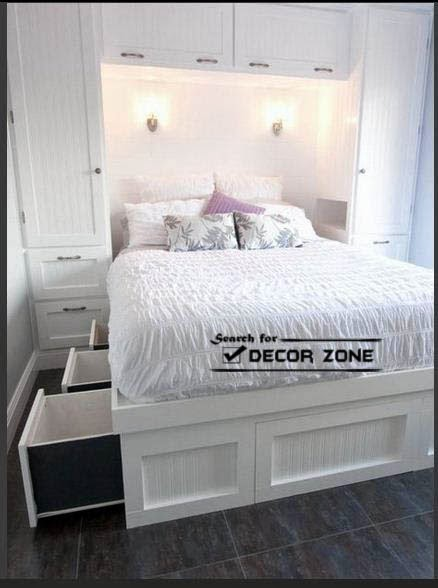 bedroom ideas bed in the closet small bedroom ideas bed in the closet