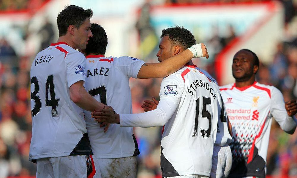 Bournemouth 0 - 2 LIVERPOOL  #25/01/2014  #FA