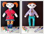 Куклы для рисования