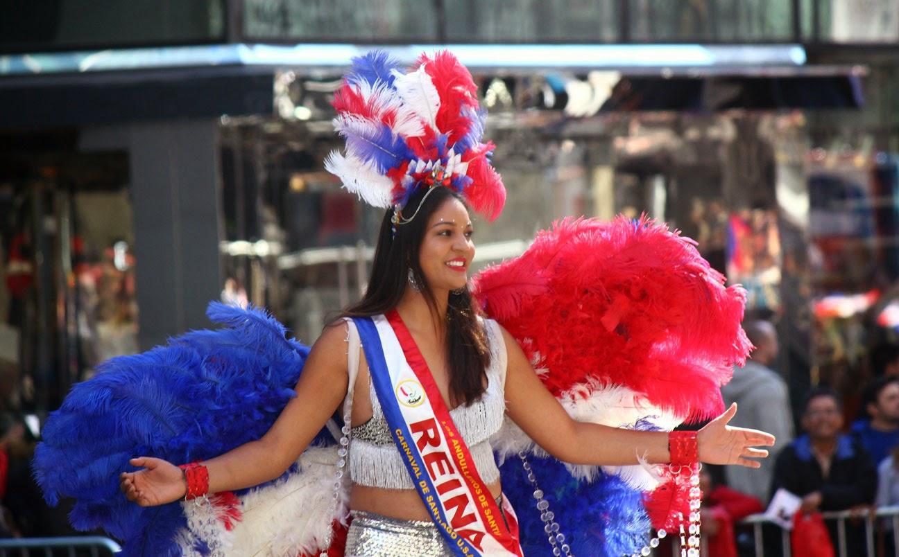 Desfile de la hispanidad de Nueva York 2014 - Republica Dominicana