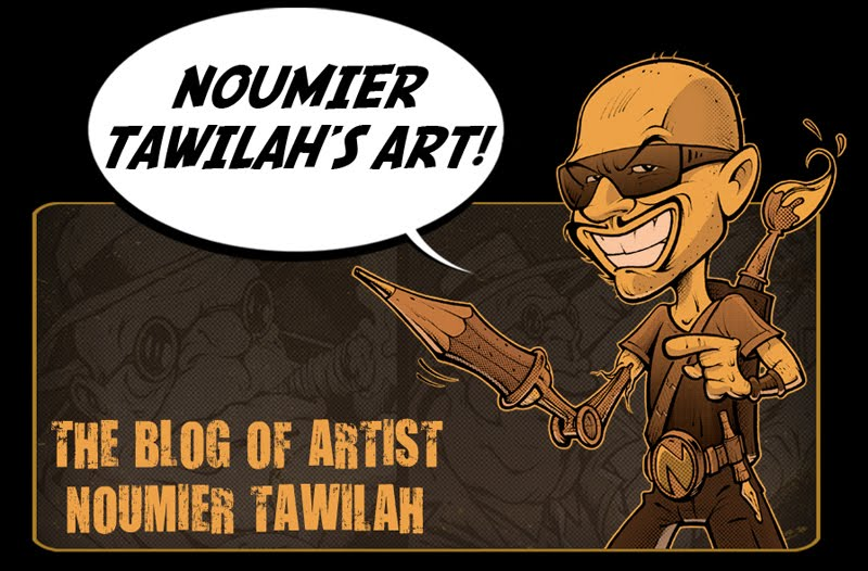 Noumier Tawilah&#39;s Art