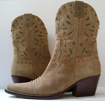 closet cole haan brown suede cowboy boots womens