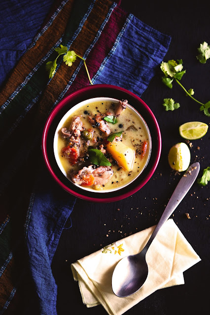 healthy chicken stew with vegetables and coconut milk step by step recipe