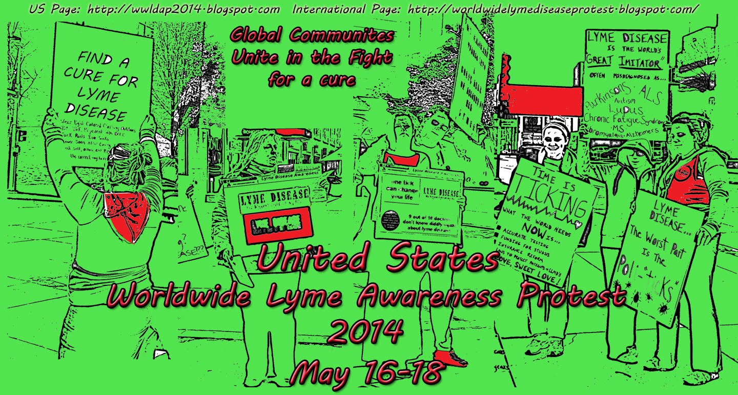 Worldwide Lyme Disease Awareness Protest 2014