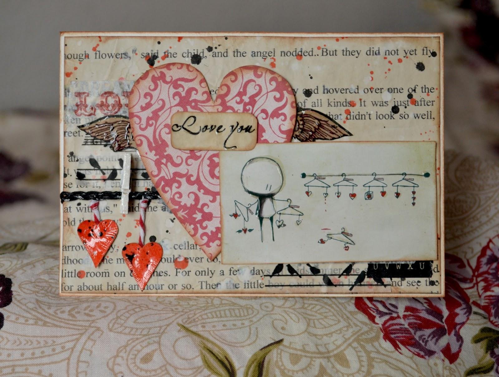 Валентинов день скрапбукинг