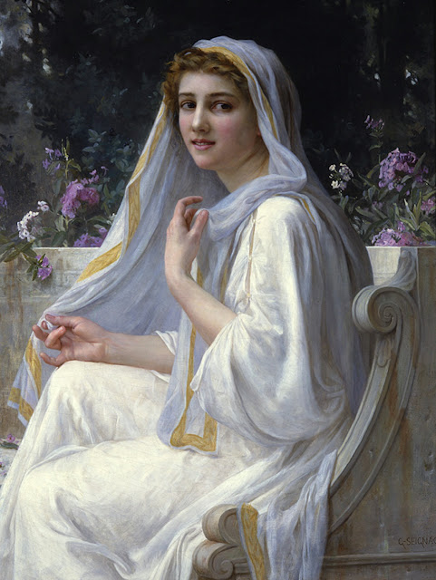Greek painting,Guillaume Seignac,adorable