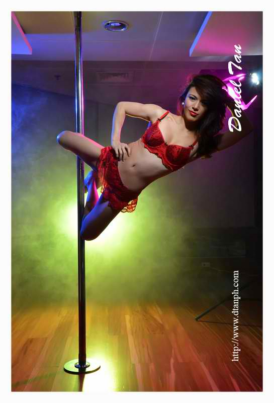 ciara sotto hot pole dancing exercise 04