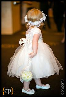 flower pomander, flower girl