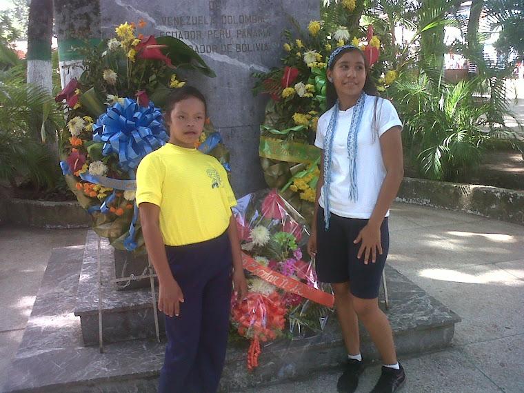 Ofrenda Floral al Padre de la Patria