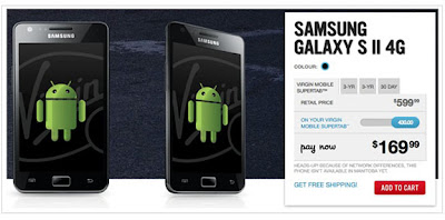 Virgin Mobile Launches Galaxy S II
