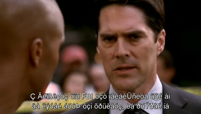 Ah yes, the random characters that ruin any 미드 (= 미국 드라마 = American dramas) viewing. Your face now looks like Hotch here. What can you do about this?