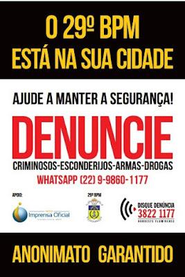 DISQUE DENÚNCIA NOROESTE COMPLETA 14 ANOS DE EXISTÊNCIA NO 29°BPM E LANÇA NOVIDADE