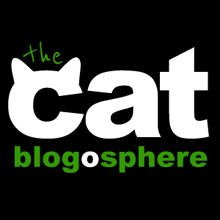 WE ARE MEMBERS OF THE CAT BLOGOSPHERE