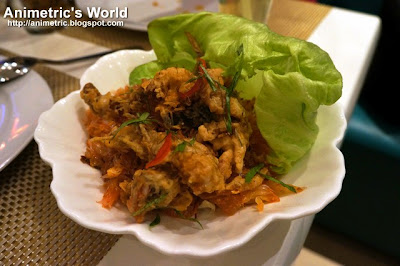 Soft Shell Crab Pomelo at Thai Bistro