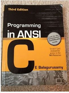 Programming in ansi c 6th edition pdf download