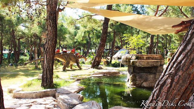 dino park dinazor parkı Türkiye'nin tematik parkları
