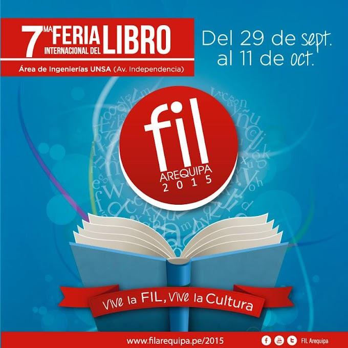 Feria Internacional del Libro Arequipa - FIL 2015 - del 29 de set al 11 de oct