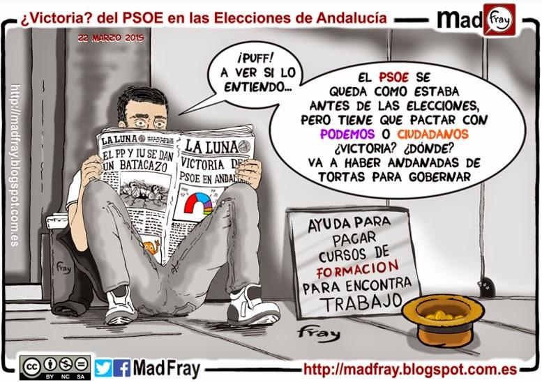 VIÑETA: El PSOE se queda como estaba y tiene que elegir nuevos socios de gobierno