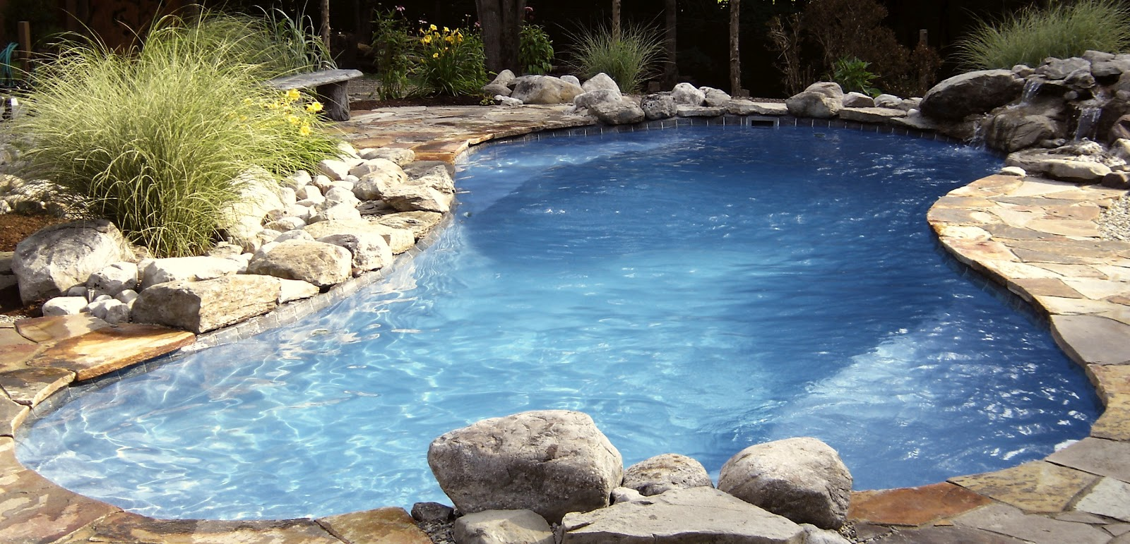 A splash of paradise for Pool design hamilton