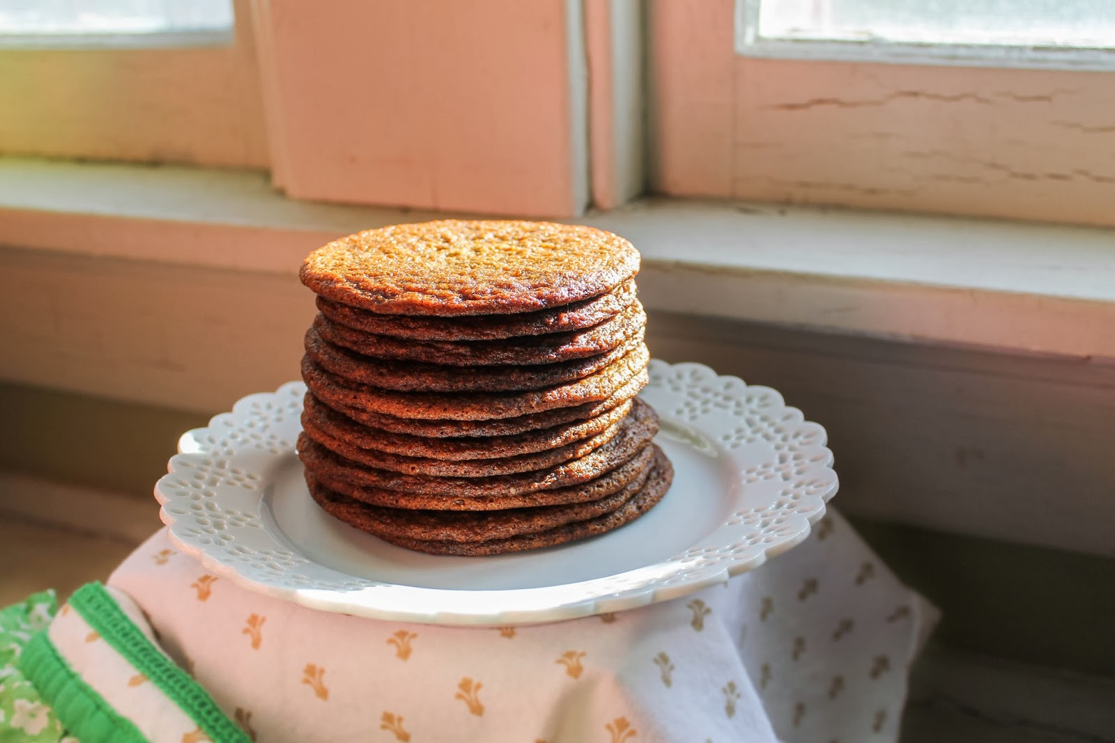 The Quixotic Table: Ginger Molasses Cookies