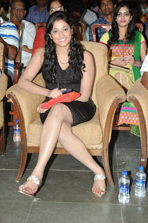 Actress Hari Priya  Pictures in Short Dress at Prema Ishq Kadhal Movie Audio Launch  0035