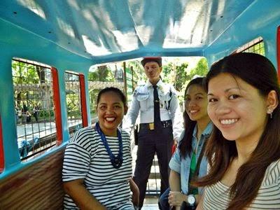 RAVE Pasig train ride