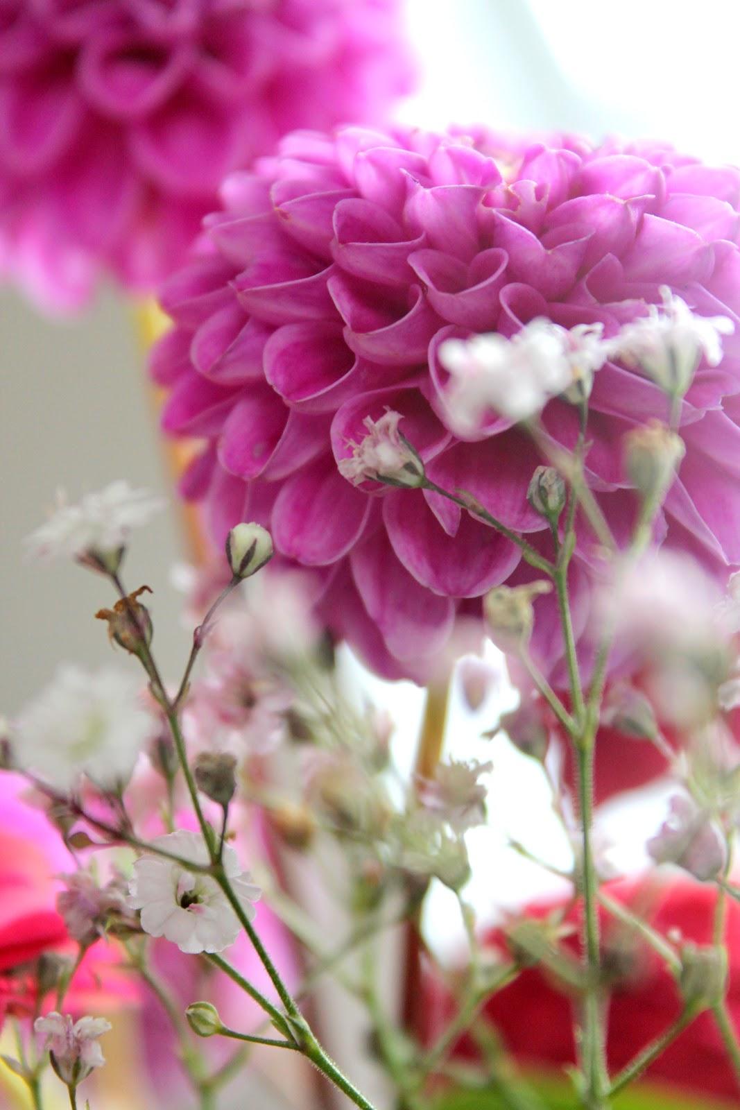 flotte blomster marker