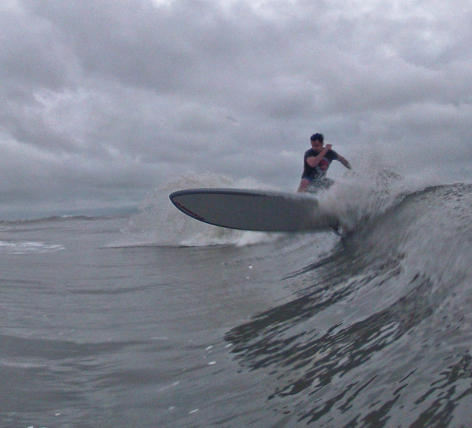 atlantic paddle surfing hunting island with the boy z