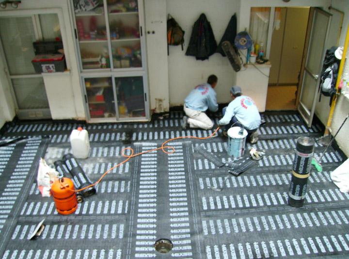 Impermeabilización de terraza en Zaragoza