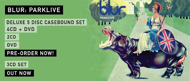 blur parklive, blur cd, blur dvd, blur pre-order, blurparklive, blurhydepark