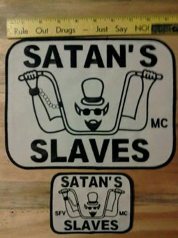 Satans slaves mc patch