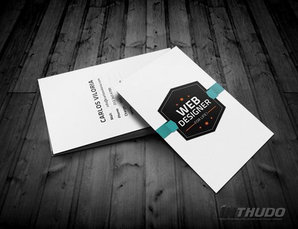 mẫu card visit cá nhân 5