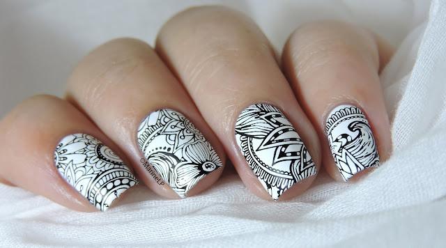 Nailstorming - En noir et blanc - Marine Loves Polish and