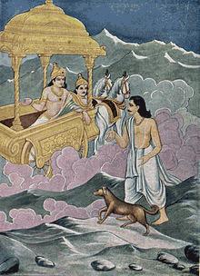 Yudhistira menuju nirwana