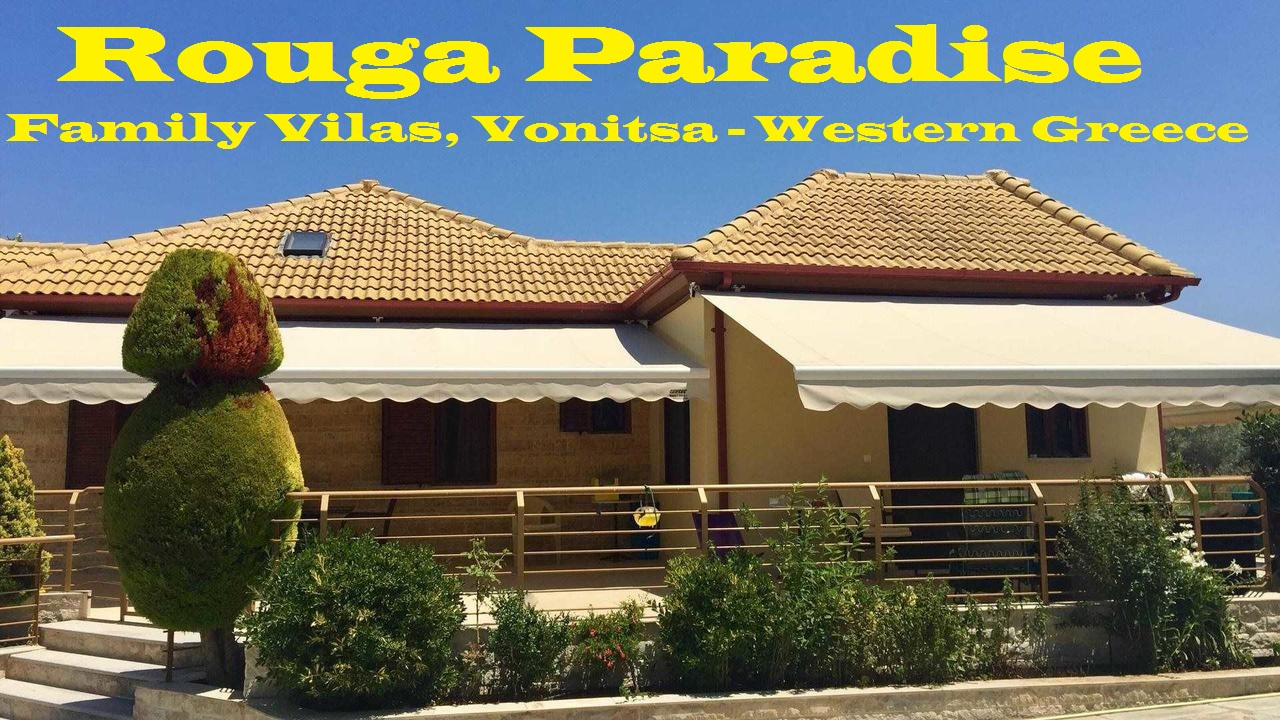 Rouga Paradise Family Villas Vonitsa -Greece