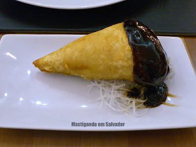 Tokai Gourmet: Hot Temaki de Salmão Grelhado